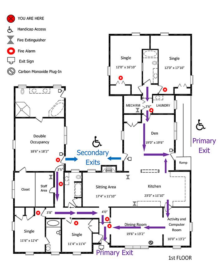 Senior Retreat at Lansdonwe Floor Plan